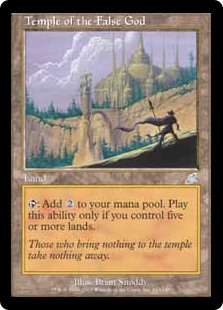 Temple of the False God SCG