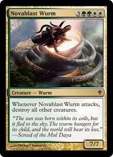 Novablast Wurm WWK