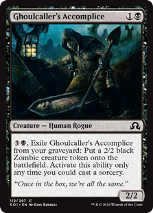 Ghoulcaller's Accomplice SOI