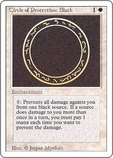 Circle of Protection Black 3E
