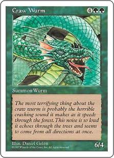 Craw Wurm 5E