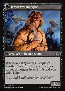 Wayward Disciple SOI