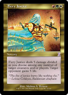 Fiery Justice TSP
