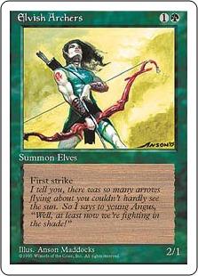 Elvish Archers 4E