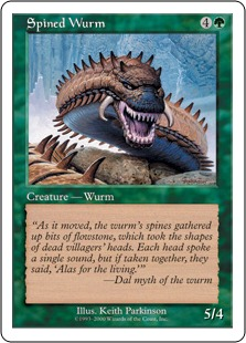 Spined wurm P4