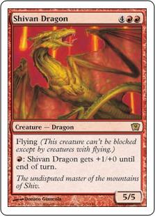 Shivan Dragon 9ED