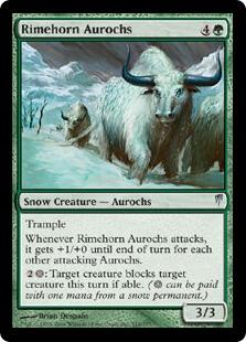 Rimehorn Aurochs CSP