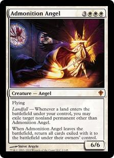 Admonition Angel WWK
