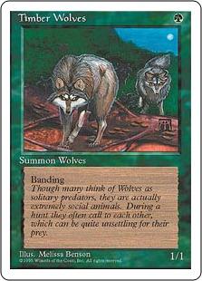 Timber Wolves 4E