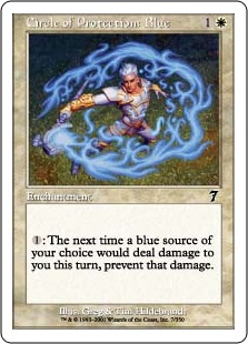 Circle of Protection Blue 7E