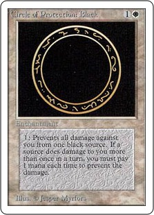 Circle of Protection Black 2U
