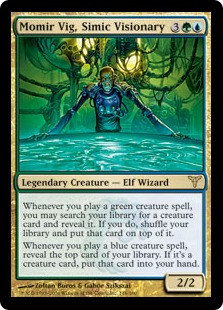 Momir Vig, Simic Visionary DIS