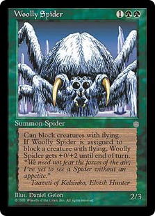 Woolly spider IA