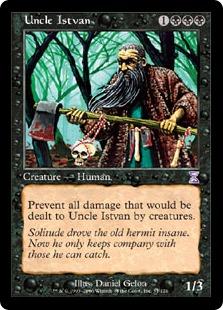 Uncle Istvan TSB