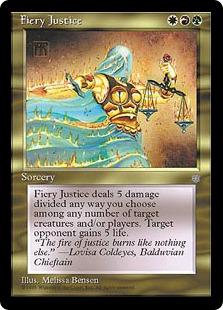 Fiery Justice ICE