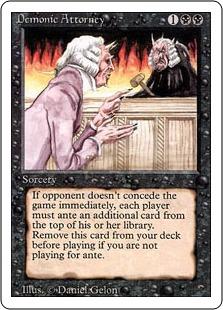 Demonic Attorney 3E