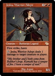 Jeska, Warrior Adept JUD