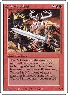 Keldon Warlord 3E