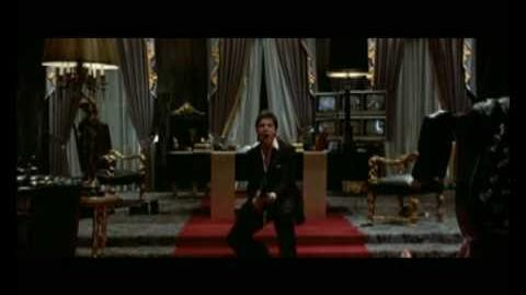 Youtube Poop Scarface, Tony Montana goes crazy in a paranoic spacetime