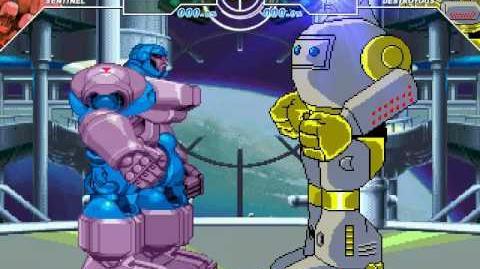 MUGEN Sentinel me vs