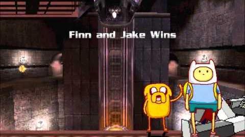 RGM MUGEN Finn (with Jake) vs Megatron