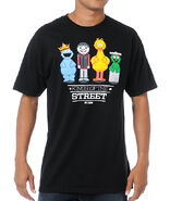 Neff-x-Sesame-Street-Street-Kings-Black-T-Shirt- 202491-0001-front