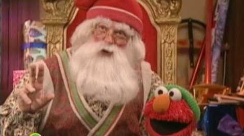 Sesame Street Elmo Visits Santa