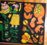 Colorforms kermit 1981