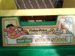 Fisher price 1984 step stool 1