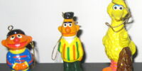 Sesame Street Christmas ornaments (Gorham)