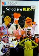 Milton bradley muppet school puzzles