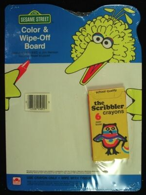 1985 color and wipe off board
