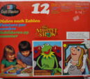 Muppet Paint By Number kits (Milton Bradley)
