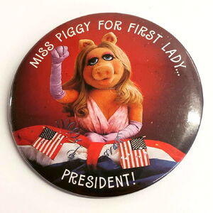 First lady button