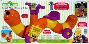 Slimey scooter