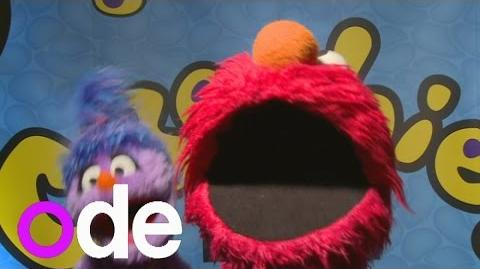 Elmo and Cookie Monster perform Pharrell's Happy