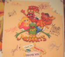 "Here Come the Muppets ""Thank You"" Production Poster"