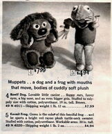 Ideal muppet 1966 sears catalog