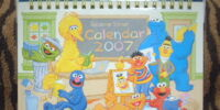 Sesame Street calendars and planners (Universal Studios Japan)