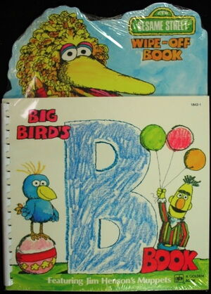 Golden big bird's b book