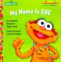My Name Is Zoe (book)