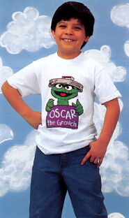 Sesame catalog shirt oscar the grouch