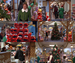 Elf movie Sesame toys