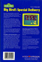 Hi tech 1987 big bird's special delivery 2