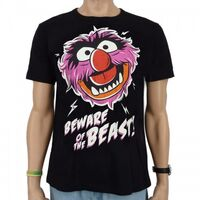 Logoshirt-Animal-BewareOfTheBeast-T-Shirt-black