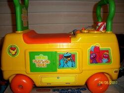 Playskool 1988 sesame street play n go rider 2