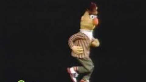 Sesame Street Bert Dances To Doin' The Pigeon