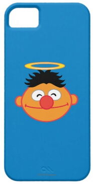 Zazzle ernie smiling face with halo