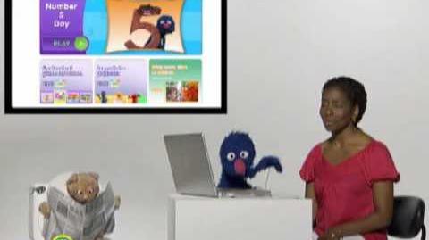 Sesame Street Grover and Makeda Introduce Sesamestreet.org