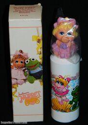 Avon 1985 shampoo muppet babies piggy finger puppet 1